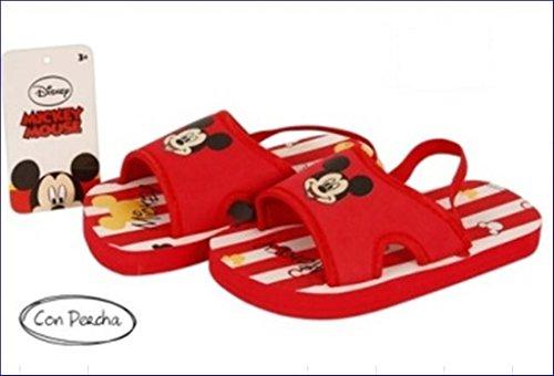 Pack de 3 Zapatillas Disney Verano Myckey y Cars LIQUIDACION T-27