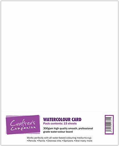 Crafter Begleiter druckbare Karte - Aquarell Karte (15 Blatt)