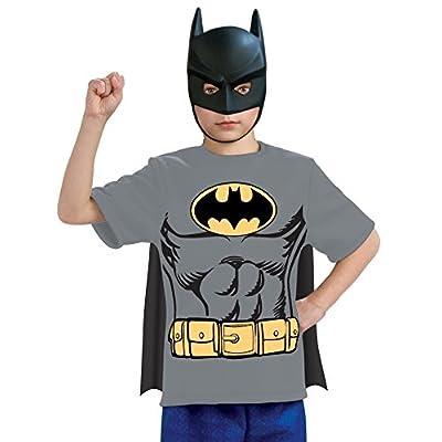 Justice League Child's Batman 100% Cotton T-Shirt - Small: Toys & Games