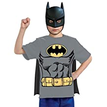 Rubies Costume Co Justice League Child's Batman 100% Cotton T-Shirt, Small