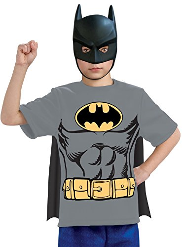 Batman Shirt Kids Costume (L) -