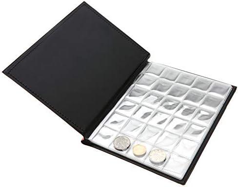 9bb8d70130 Garosa Raccoglitore per Monete Album Portamonete per raccoglitori di  Piccole Dimensioni, 250 Tasche, 10