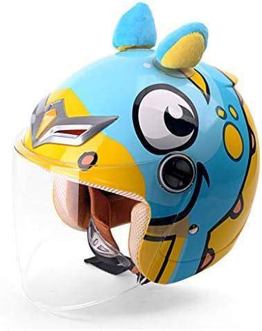 NJ ヘルメット- 電動バイクヘルメット男性と女性四季ユニバーサルヘルメット (Color : B, Size : 28x22x22cm)