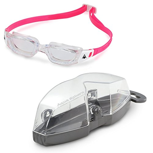 Lunettes de natation, Kameleon Junior, de Aqua Sphere Clear Lens/Transparent/White/Pink