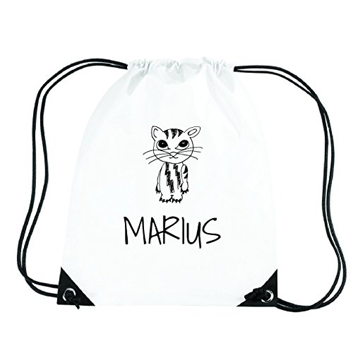 JOllipets MARIUS Turnbeutel Sport Tasche PGYM5722 Design: Katze KUiAlxHG
