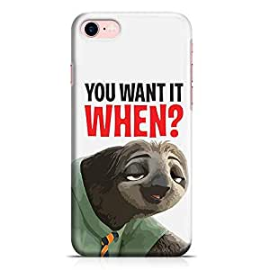 Loud Universe Zootopia Sloth iPhone 7 Case You want it when iPhone 7 Cover with 3d Wrap around Edges
