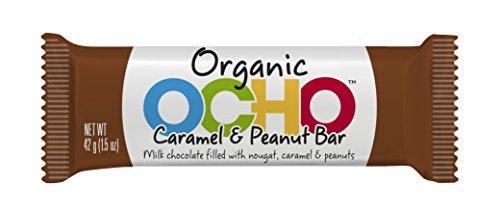 Organic OCHO Chocolate Bars - 12 Pack (42g/ea) (Caramel & Peanut)