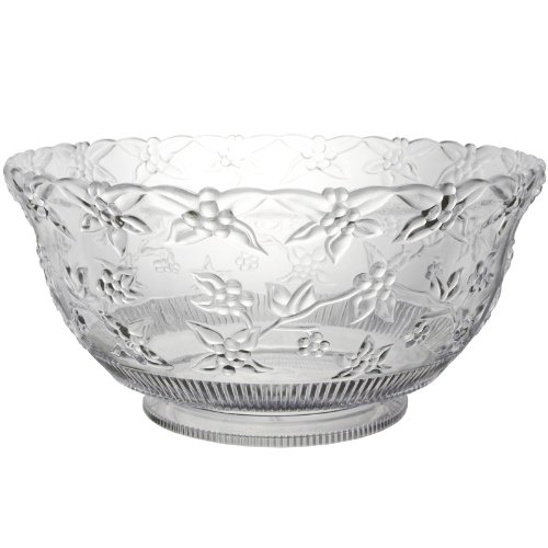 Punch Bowl Halloween Costumes (12 Quart Embossed Clear Punch Bowl)