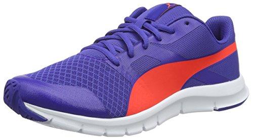 Puma Unisex-Erwachsene Flexracer Sneakers Blau (Royal Blue-red Blast 10)