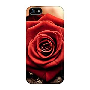 Ideal MeSusges Case Cover For Iphone 5/5s(lonely Rose), Protective Stylish Case