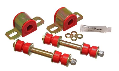 Energy Suspension 3.5145R Rear 21mm Stabilizer Bar Set for GM by Energy Suspension