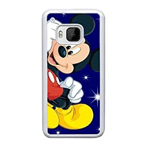 HTC One M9 Cell Phone Case White Mickey Mouse ST1YL6709926