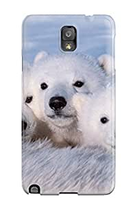 Awesome Design Polarbears Hard Case Cover For Galaxy Note 3