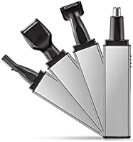 YOMYM Rechargeable Beard & Body Hair Trimmer, 4 in 1 Nose Ear Beard Trimmer Shaver Electric Razor Clippers Wet/Dry...