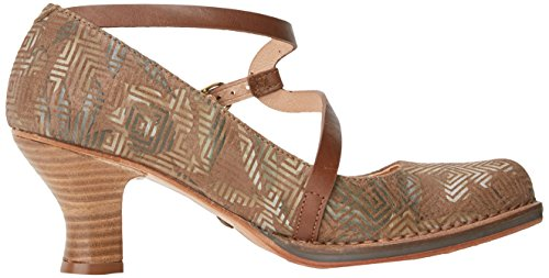 nicekicks for sale Neosens Women's S606 Fantasy Geo Brown/Rococo Closed Toe Heels Brown (Geo Brown Geo Brown) low shipping for sale MwT1c5Ji