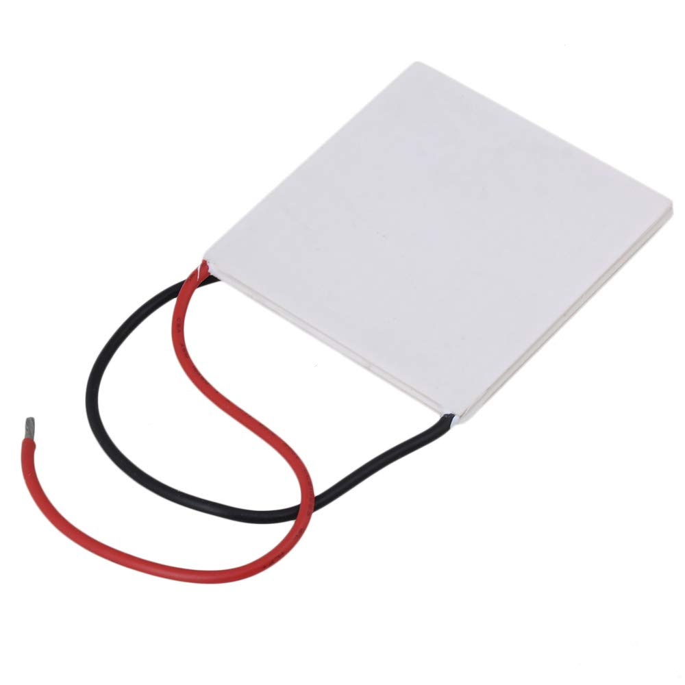 CNBTR 62 x 62mm White Thermoelectric Peltier Semiconductor Coolers Model TEC1-12730 Set of 5 by CNBTR