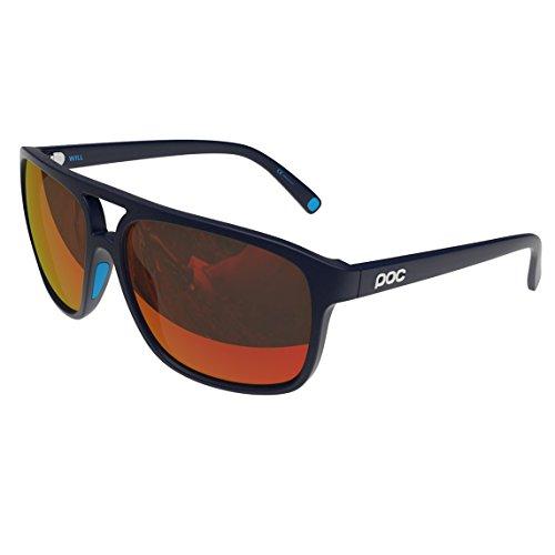 POC Will Sunglasses, Navy Black/Californium Blue, One - Sunglasses Poc