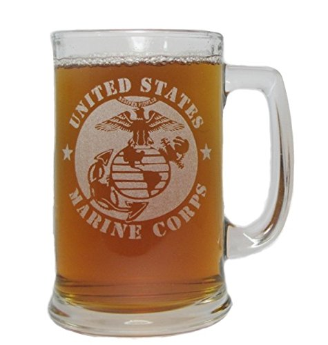 USMC-Marine-Corps-15oz-Beer-Mug-with-Handle