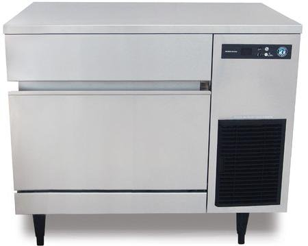 Hoshizaki IM-200BAA 40'' Energy Star Qualified Undercounter Self-Contained Ice Maker With 200 lbs. Daily Ice Production 50 lbs. Storage Capacity Square Ice Cubes Air-Cooled EverCheck by Hoshizaki