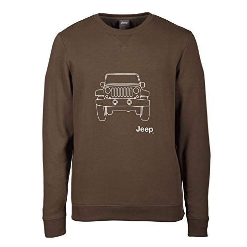 Vehicle light shirt Military Outline Grey Homme Jeep J6w Sweat Cq7wt70
