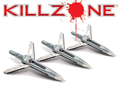 Killzone 3 - Pk. New Archery Products 100 - gr. Cut - on - Contact 2 inch Broadheads (Best Crossbow On The Market)