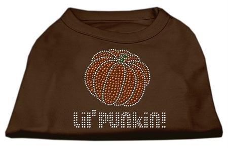 lo stile classico Mirage Pet Products Lil 'Punkin' 'Punkin' 'Punkin' Strass Camicia, XS, Marronee  produttori fornitura diretta