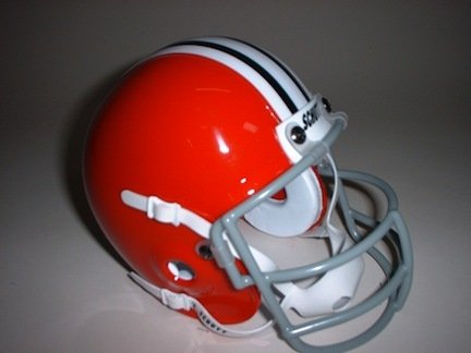 Schutt Ohio State Buckeyes (1966) Mini Throwback Football Helmet from