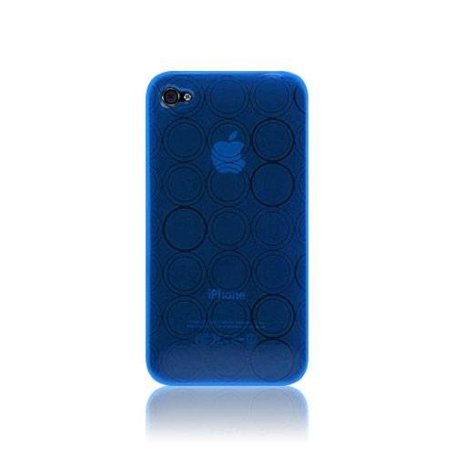 Katinkas KATIP41034 Soft Cover für Apple iPhone 4 Tube blau