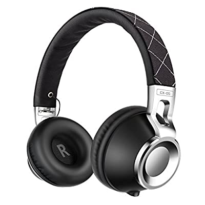 Headphones,Sound Intone CX-05 Headphones with Microphone,Noise Isolating On Ear Headsets for Iphone,Android Device,Mp3/4,Laptop,Tablet