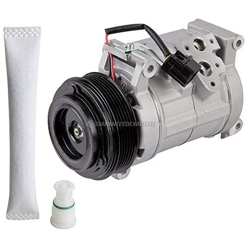 Price comparison product image AC Compressor w / A / C Drier For Cadillac SRX 2005 2006 2007 2008 2009 - BuyAutoParts 60-86461R2 NEW