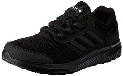 adidas, Galaxy 4 Shoes, Men's Shoes, Black/Black/Black, 7 US