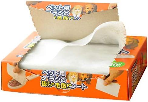 ペットコームクリーニングシート抽出デザインクリーニングシートは、50個を使用して使用するのに便利なコレクションデザインです-ホワイト