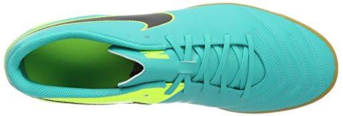 Nike Tiempo Rio Iii Ic, Botas de Fútbol para Hombre, Negro (Clear Jade/Black/Vert Volt), EU