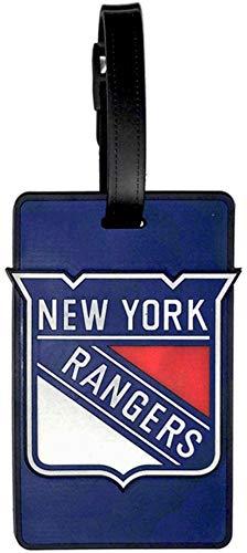 NHL New York Rangers Soft Bag Tag (Nhl Luggage Bag Tag)