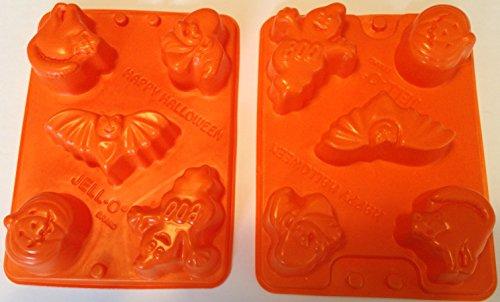 Jello Jiggler Halloween Jell-o Molds (Pack of 2) (Jello Jiggler Molds Halloween)