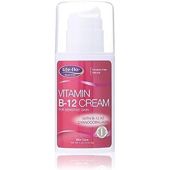 Amazon Com Life Flo Vitamin B 12 Skin Cream 4 Ounce