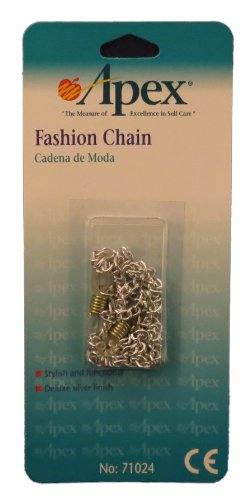 Silver Eyeglass Holder Fashion Chain By Apex Medical