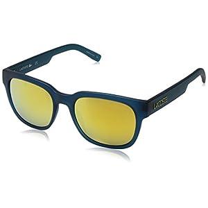 Lacoste L830s Rectangular Sunglasses, Matte Green, 53 mm