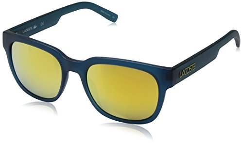 Lacoste L830s Rectangular Sunglasses, Matte Green, 53 mm