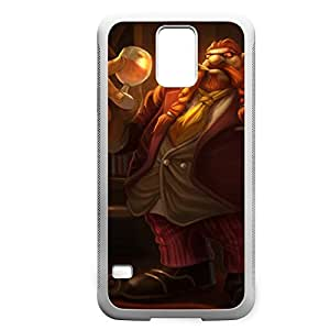 Gragas-004 League of Legends LoL For Case Samsung Galaxy S4 I9500 Cover - Hard White