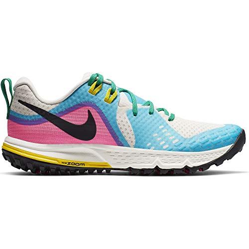 Nike Air Zoom Wildhorse 5 Women's Running Shoe LT Orewood BRN/Black-Blue Fury 7.0