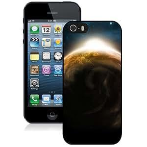 Fashion DIY Custom Designed iPhone 5s Generation Phone Case For Sunrise Satellite Perspective Phone Case Cover
