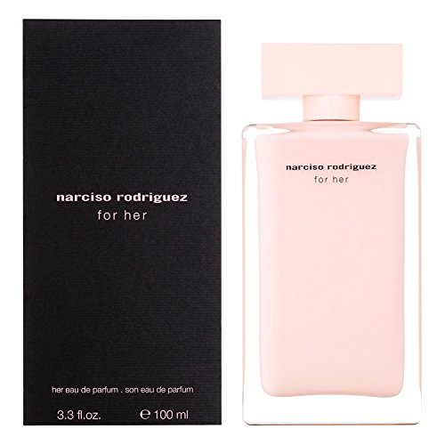 [Narciso Rodriguez For Her by Narciso Rodriguez 3.3oz 100ml EDP Spray] (Her Edp Spray)