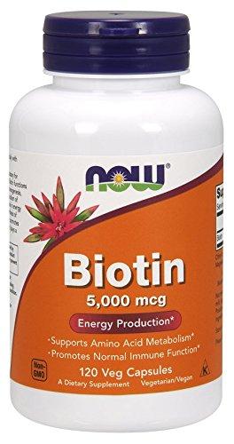 Biotin 5 000mcg 120 VegiCaps