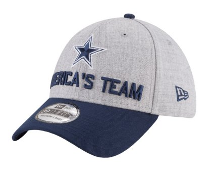 Dallas Cowboys New Era 2018 Draft Mens 39Thirty Cap