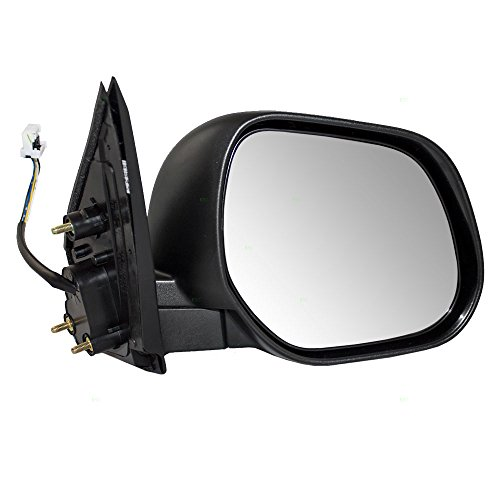 Mitsubishi Side Mirror - Passengers Power Side View Mirror Heated Replacement for Mitsubishi SUV 7632B434