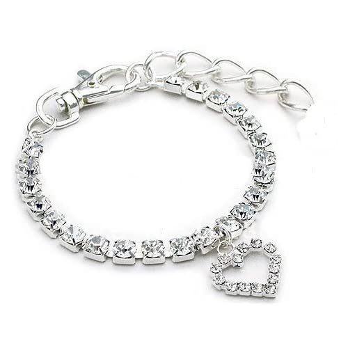 hot sale 2017 pet dog necklace jewelry rhinestone collar