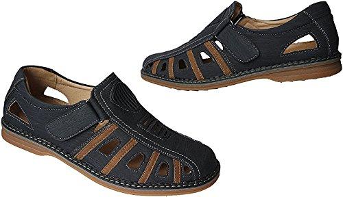 blau gr Herren khaki Schuhe Slipper Halbschuhe nr 40 Sommer 46 Sandalen X61 aaSO7vAq