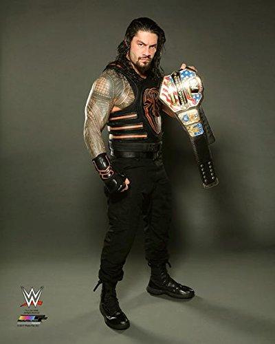 Roman Reigns US Champion - WWE Photo 8x10