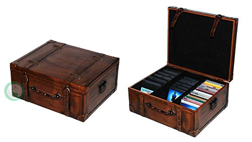 Trunk Cd (Vintiquewise(TM) Vintage Style Leather CD Case)
